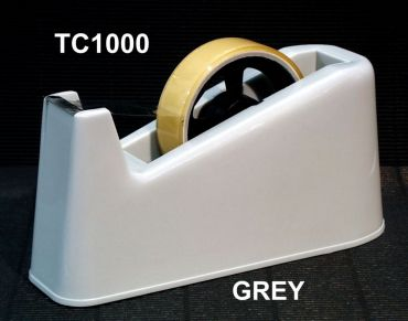 Tape Dispenser Osmer Large 75mm Dual Core Grey