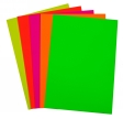 Quill A4 80gsm Copy 4 Assorted Fluoro Colours Ream