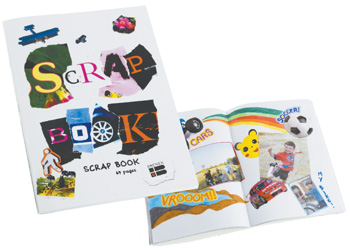 Quill Scrap/Activity Book 64 Page