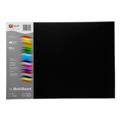 Kindy Cardboard 210gsm Black per Sheet