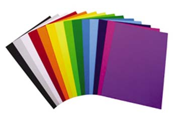 Coverpaper A4 125gsm Assorted Colours 100 Sheet