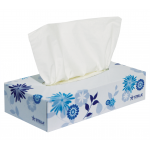 Facial Tissues 2 Ply Virgin White Stella Soft 100's EACH