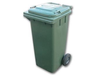 Wheelie Bin Heavy Duty 120L Green
