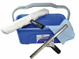 Edco Economy Window Cleaning Kit 4 Piece including 12L Bucket