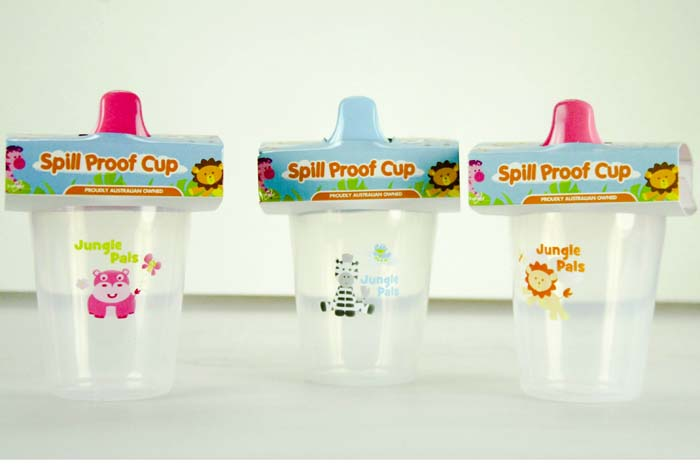 Sipper Cup Spill-Proof No Handles 240ml